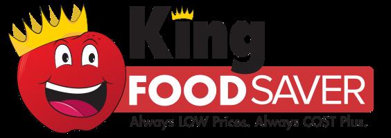 A theme logo of King Food Saver